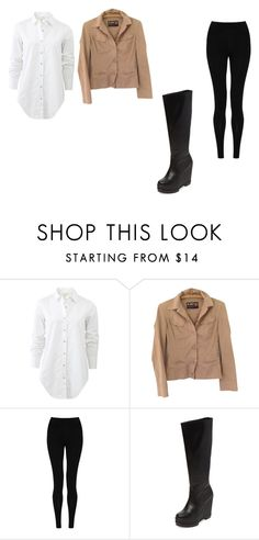 """Sin título #91"" by juancamilopatino ❤ liked on Polyvore featuring rag & bone, Jean-Paul Gaultier, M&S Collection and Robert Clergerie"