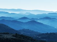 Mountains, Fog, Layers, Priorat
