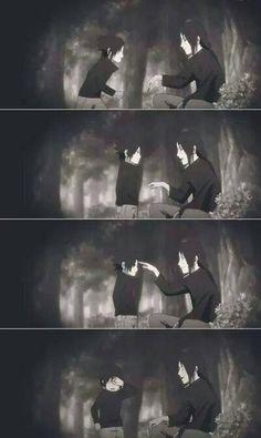 Itachi and Sasuke <3 #naruto
