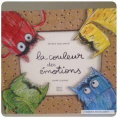 """Ensemble naturellement : """"La couleur des émotions"""", livre"""