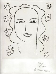 matisse: also love his use of minimal line to express so much !