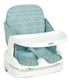 Travel Booster Seat - Sage Chevron - Booster Seats - Mamas & Papas