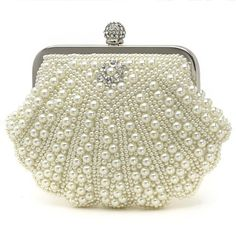 Fashion Pearl With Austria Rhinestones Evening Handbags/ Clutches More Colors Available - USD $ 45.59