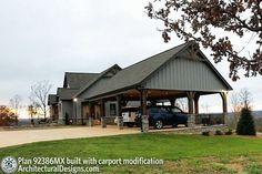 Pole Barn House Plans, Mountain House Plans, Ranch House Plans, New House Plans, Dream House Plans, Small House Plans, House Floor Plans, Mountain Cottage, Tiny House Cabin
