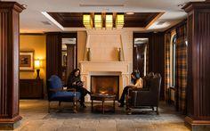 Residences at Sun Peaks Grand lobby