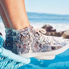 Sneakers print 317M-891A High Altitude Sneakers - multi