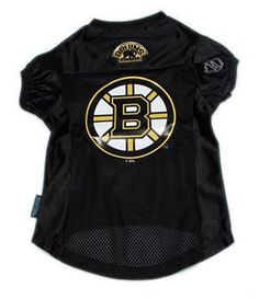 0c69f8e27 Support your team with an officially licensed Boston Bruins NHL Dog  Jersey!This jersey is made of a micro mesh material with an large team logo  and team ...