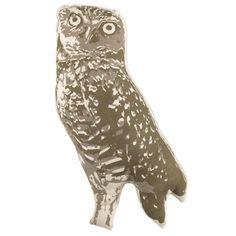 Camp Throw Pillow (Owl)...............d