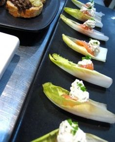 ... seasonedfork com more endive crème endive spears fraiche smoked sour
