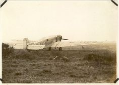 Transport Junkers W33f donated to the Japanese Imperial flight Association in 1929.