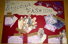 Completed Baroque Theme Board.