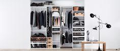 Houd overzicht over jouw garderobe met het flexibele Kvik Ordine inrichtingssysteem. Kvik heeft een uitgebreid aanbod garderobeoplossingen tegen lage prijzen.