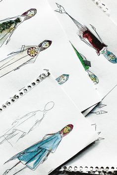 Josep Font's sketches