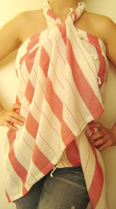 Handwoven Bath and Beach Towel Turkish Peshtemal by TheAnatolian, $29.00