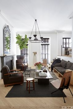 New York City Living Room - ELLEDecor.com