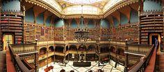 Panorâmica do Interior do Real Gabinete português de Leitura, Rio de Janeiro