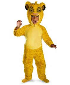 Lion King Simba Toddler Boys Costume Deluxe