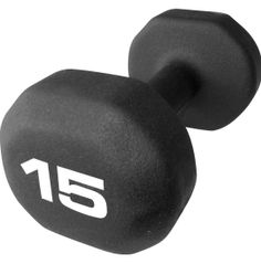 The Fitness Gear 15 lb Neoprene Dumbbell is the ideal workout tool for all of your cardio and weight training needs. Turn up the level of intensity with this 15 lb dumbbell and focus on smaller muscle groups for greater definition. The balanced cast iron core delivers solid performance, while the neoprene-coated exterior makes it easy to maintain grip control. Increase daily cardio on the go or at home with the Fitness Gear Neoprene Dumbbell.
