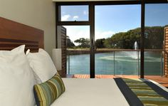 Enjoy direct beach access with open living/dining area, Pullman Resort Bunker Bay, Western Australia
