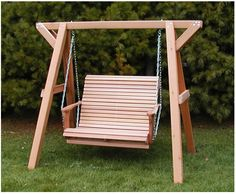 #Custom-Made Lovers Porch Swing With Frame.