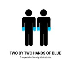 Two By Two Hands of Blue