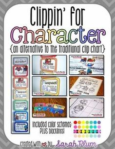 Clippin' for Character is an alternative to the traditional clipchart that provides positive reinforcement and specific praise of displays of character in the classroom.