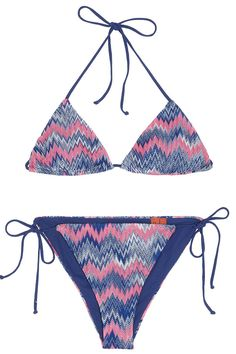 ZZ Reversible Triangle Bikini By MISSONI @ http://www.boutique1.com/