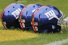 John Bohonyi - Fan @ New York Giants Nfl Football Teams, Football Helmets, New York Giants, Fan, Hand Fan, Fans