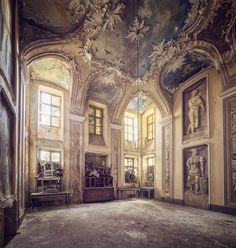 """1,736 Likes, 25 Comments - Mathias Mahling (@glory.of.disrepair) on Instagram: """"[under the sky]#abandoned #decay #forgotten #architecture #art #history #urbex #urbanexploration…"""""""