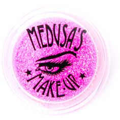 Medusa's Makeup Glitter Dust ($6.30) ❤ liked on Polyvore featuring beauty products, makeup, face makeup, face powder, medusa's makeup and loose face powder