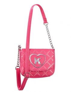 Quilted Sequin Initial Crossbody Bag