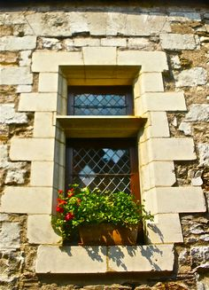 Lovely window in Angers, France