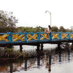 Ponte do terminal turístico