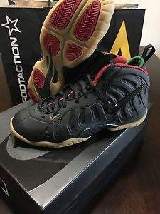 b83541f651ac1a Nike Air Foamposite pro Black Gum Fruity Pebble kids GS 4 - 7 foams foam