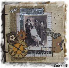 """Album Vintage """"photos d'antan"""" ... - Les créations de la Matrue : le blog de Karine-KBI"""
