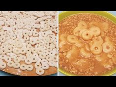 Mucenici de casa fierti - reteta de post, a bunicii mele - YouTube Cereal, Breakfast, Sweets, Food, Youtube, Morning Coffee, Gummi Candy, Candy, Essen
