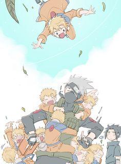 Tags: Fanart, NARUTO, Uzumaki Naruto, Uchiha Sasuke, Hatake Kakashi, Pixiv, Fanart From Pixiv, Pixiv Id 16597857
