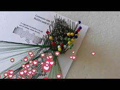 06 Abanico 47 mini Maxbolillos: Figura en forma de corazón con reseguido - YouTube Christmas Wreaths, Christmas Tree, Tree Skirts, Mini, Holiday Decor, Youtube, Home Decor, Pink, Vestidos