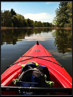 Kayaking in Buckhorn State Park- Necedah, WI.