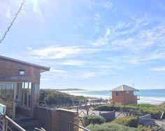 A beautiful view and fabulous coffee at @simonswaterfront. Another perfect Warrnambool morning. #simonswaterfront #warrnambool #beach #sunny #destinationwarrnambool #makingthemostofit by chrisallsopphotography