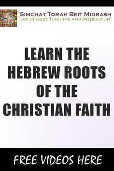 Join the growing number of people who are discovering the Hebrew Roots of their Christian faith. Learn the essentials about Hebrew Roots and deepen your understanding of the Bible, including the Hebrew world of Jesus Christ, and your identity in Him.