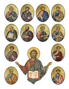 Orthodox Christian Education: 12 Apostles Activity