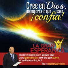 ¡Invita amigos! tú y ellos son amados del Señor! Sepa los horarios haciendo clic en la imagen -  La Gran Esperanza 2012