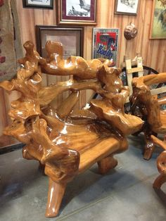 Beautiful Wooden Chair 44..... More Amazing #Chairs and #Woodworking Projects, Tips & Techniques at ►►► http://www.woodworkerz.com