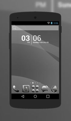 """Black Silver"" Android Theme. Free download  http://androidlooks.com/theme/t1429-black-silver/   #android, #androidTheme, #soloLauncher"