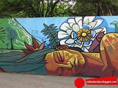 Graffiti Wall Art, Graffiti Wallpaper, Murals Street Art, Mural Wall Art, Mural Painting, Street Art Graffiti, Outside Wall Art, Art Du Monde, School Murals
