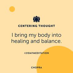 21 Day Meditation, Guided Meditation, Focus Your Mind, Deepest Gratitude, Deepak Chopra, Deep Relaxation, How To Better Yourself, Natural Healing, Law Of Attraction