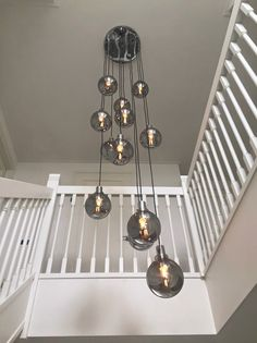For buying a chandelier in Europe, you are at the right place at HPV Chandeliers! Take a look at the Vide lamps projects we have executed worldwide. High Ceiling Lighting, Stairway Lighting, Entryway Lighting, Interior Lighting, Chandelier Lighting, Chandeliers, Foyer Flooring, Modern Light Fixtures, Farmhouse Lighting