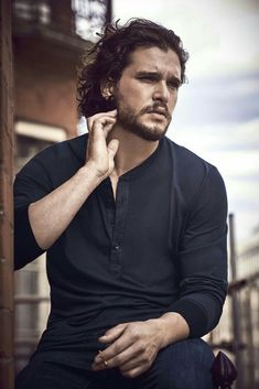 Kit Harington Best Known As Jon Snow On HBO'S GoT