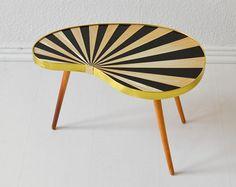 #mid-century #kidney #table #vintage